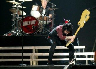 Green Day frontman Billie Joe Armstrong went on a foul-mouthed tirade after his band's playing time was cut to make way for Usher at the iHeartRadio festival in Las Vegas