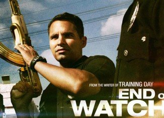 Jake Gyllenhaal's thriller End of Watch has tied for top spot at the US box office