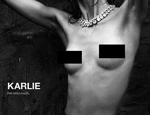 Karlie Kloss printed in Numéro magazine