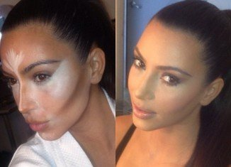 Kim Kardashian charted her makeover and shared images of the process with her 16 million Twitter followers
