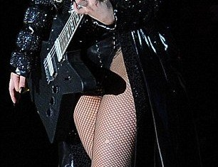 Lady Gaga performs in Zurich, Switzerland, on Wednesday