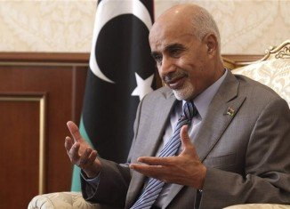 Libya's interim leader Mohammed Magarief has vowed to disband all illegal militias in the aftermath of the US ambassador's death