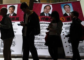 People in Hong Kong are voting for a new legislature, with pro-democracy candidates expected to benefit from weeks of anti-China protests
