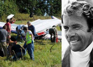 Richard Bach was reportedly trying to land his small plane on San Juan island in Washington state when he hit power lines and got trapped in the cockpit