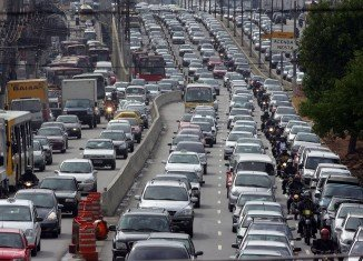 Sao Paolo has some of the worst congestion problems in the world