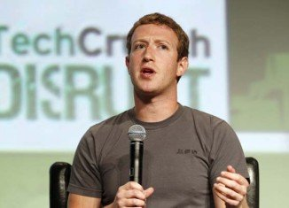 Speaking at the TechCrunch Disrupt conference in San Francisco, Mark Zuckerberg called the drop in Facebook's value disappointing