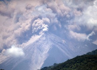 Thousands of people have been evacuated in Guatemala after the Fuego volcano started spewing ash and lava