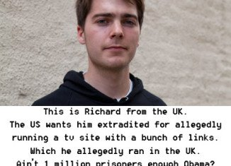 Richard O'Dwyer Extradition Support