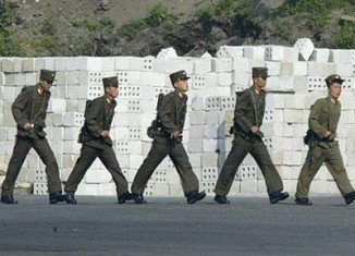 A North Korean soldier has defected to South Korea across the two countries' heavily armed border