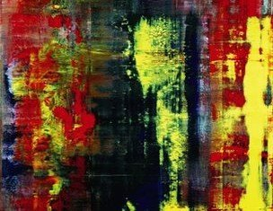 Abstraktes Bild, painted in 1994, has been described as a masterpiece of calculated chaos