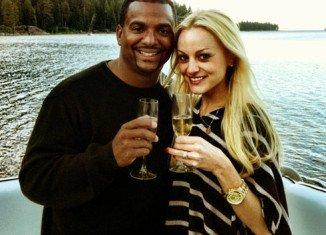 Alfonso Ribeiro has married his fiancée Angela Unkrich