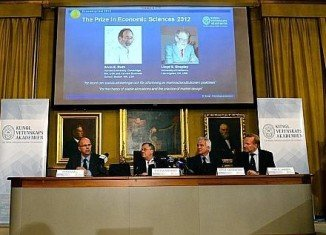 Americans Alvin Roth and Lloyd Shapley have won the 2012 Nobel Prize in economics