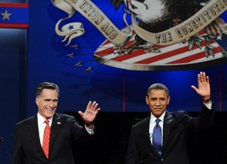 Barack Obama and his rival Mitt Romney are on track to raise more than $2 billion by Election Day