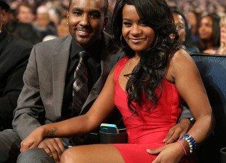 Bobbi Kristina Brown and Nick Gordon at Grammy Salute to Whitney Houston