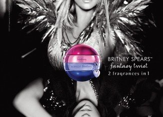 Britney Spears is introducing her new fragrance Fantasy Twist
