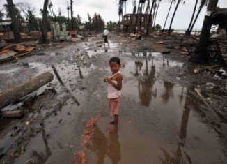 Burma's President Thein Sein has acknowledged major destruction in Rakhine state, the scene of recent ethnic unrest