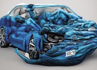 Creative Emma Hack spent 18 hours creating the car