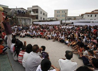 Forced evictions in China have risen significantly in recent years