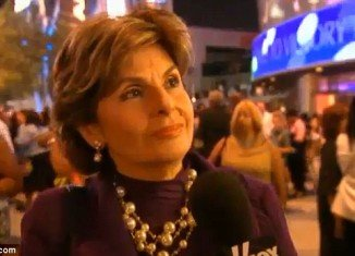 Gloria Allred was interviewed outside the Nokia Theatre two weeks before making her October surprise claims