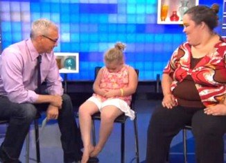 Honey Boo Boo feigned sleep rather than have to answer Dr Drew's questions