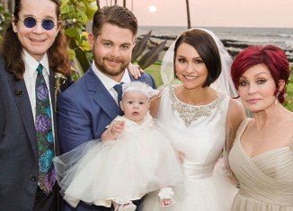 Jack Osbourne and Lisa Stelly married in a lavish ceremony at the Four Seasons Resort in Hawaii