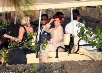 Jack Osbourne has married Lisa Stelly in an emotional and fun-filled Hawaiian ceremony