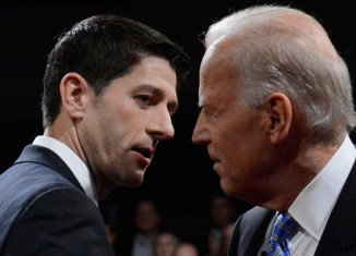 Joe Biden and Paul Ryan clashed sharply in their only debate