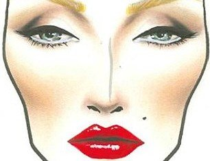 MAC Cosmetics Halloween guide says Marilyn Monroe's classic Hollywood glamour focuses on her brows, lips and her beauty spot