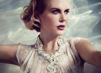 Nicole Kidman looks sensational in a portrait where she has the Princess of Monaco's glamorous style down to perfection