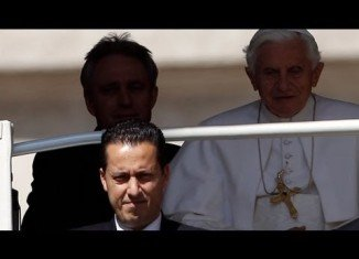 Paolo Gabriele has been found guilty of stealing confidential papers from Pope Benedict and sentenced to 18 months in jail
