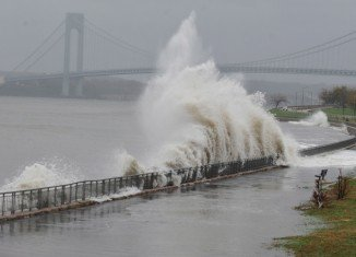 "President Barack Obama declared that a ""major disaster"" exists in New York state following Superstorm Sandy"
