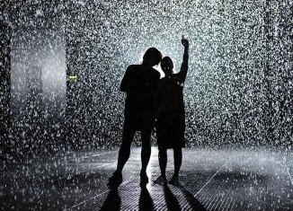 Rain Room, a new 3D exhibition at London's Barbican Centre marries art, science and technology