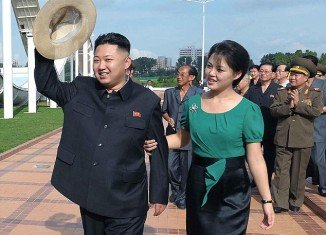 Ri Sol-ju was announced as Kim Jong-un's wife in July