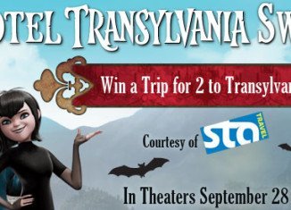 STA Travel proudly sponsors Sony Picture's Hotel Transylvania by giving you a chance to win a trip for two to tour Transylvania