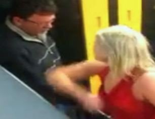 The Australian woman was filmed swearing and abusing people on a train in Sydney