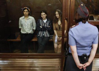 The adjourned appeal hearing for three activists from the Russian punk band Pussy Riot has started in Moscow