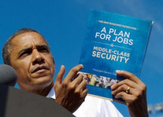 This week Barack Obama printed 3.5 million copies of a 20-page booklet entitled A Plan for Jobs and Middle-Class Security