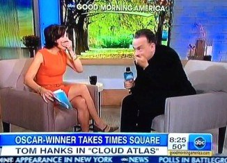 Tom Hanks dropped the F-word on live television at Good Morning America