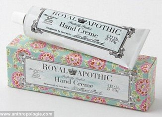 Victoria Beckham took to Twitter to tell friends and fans about her love for Royal Apothic hand cream she picked up at Anthropologie
