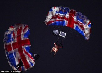 When Queen Elizabeth appeared to parachute into the Olympic Stadium this summer it was hailed as one of the greatest moments in British television history