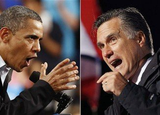 Barack Obama and Mitt Romney are approaching the final day of their election battle in a frantic fight for swing state votes