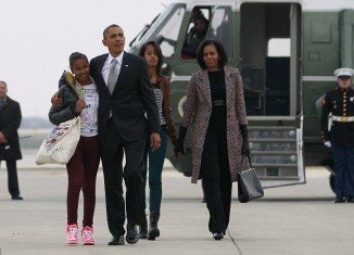 Barack Obama wasted little time on Wednesday as he headed back to Washington hours after celebrating his election victory in Chicago and securing a second term in the White House