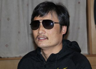 Chen Guangcheng escaped house arrest earlier this year and then took refuge at the US embassy in Beijing
