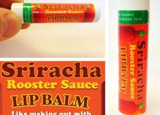 Comic site The Oatmeal is now selling a lip balm that mimics the flavors of the popular Asian hot sauce Sriracha