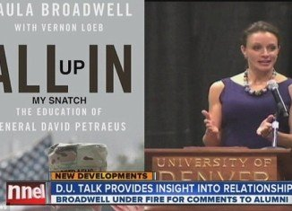 David Petraeus' biography fake cover appeared during ABC's Denver broadcast
