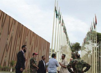 Dozens of militiamen have occupied Libya's parliament to register their anger over the formation of the new government