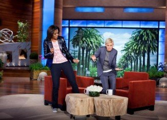 If President Barack Obama will be out of a job in 48 hours, First Lady Michelle Obama could step into a new career as a chat show host