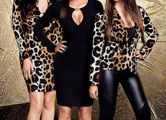 Kourtney, Kim and Khloé Kardashian will be in the UK next week to celebrate the launch of their hotly anticipated clothing line Kardashian Kollection