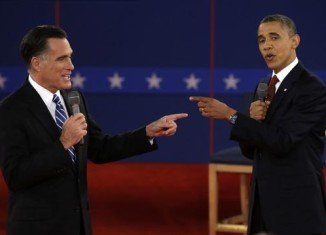 Latest national poll shows Barack Obama will win re-election by 2 percentage points and 303 electoral college votes to Mitt Romney's 235