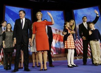 Mitt Romney thanked family and campaigners for support in his concession speech after admitting defeat in 2012 US election